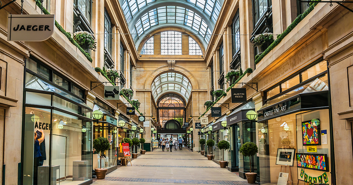 Shopping view